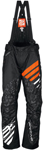 Arctiva Snow Snowmobile Men's 2018 COMP Insulated Bibs/Pants (Black/Orange)