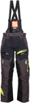 Arctiva Snow Snowmobile Men's VIBE Snowbike Bibs/Pants (Black/Yellow)