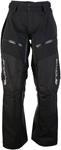 Arctiva Snow Snowmobile Men's SUMMIT Waterproof Shell Pants (Black/White)