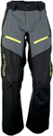Arctiva Snow Snowmobile Men's SUMMIT Waterproof Shell Pants (Black/Grey/Hi-Viz)