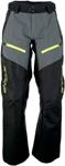 Arctiva Snow Snowmobile Men's SUMMIT Waterproof Shell Pants (Black/Grey/Hi-Viz)