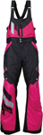 ARCTIVA Snow Snowmobile Women's 2017 ECLIPSE Insulated Bibs/Pants (Black/Pink)
