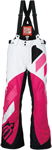 ARCTIVA Snow Snowmobile Women's 2017 COMP Insulated Bibs/Pants (White/Pink)