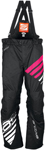 Arctiva Snow Snowmobile Women's 2018 COMP Insulated Bibs/Pants (Black/Pink)