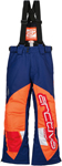 ARCTIVA Snow Snowmobile Kids 2017 COMP Insulated Bibs/Pants (Navy/Orange)