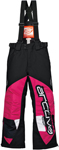 ARCTIVA Snow Snowmobile Kids 2017 COMP Insulated Bibs/Pants (Pink/White)