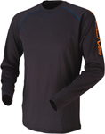 ARCTIVA Snow Snowmobile 2016 EVAPORATOR Base Layer Jersey (Black)