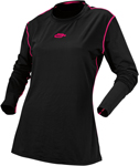 ARCTIVA Snow Snowmobile Women's 2017 REGULATOR Base Layer Shirt (Black)