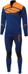 Slippery Wetsuit - Breaker John & Jacket Combo (Navy Blue/Orange)
