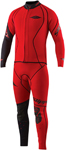SLIPPERY Wetsuits - Men's Fuse Combo Wetsuit - John & Jacket (Red)
