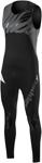 SLIPPERY Wetsuits - Men's Breaker Combo Wetsuit - John & Jacket (Black/Charcoal)
