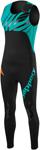 SLIPPERY Wetsuits - Men's Breaker Combo Wetsuit - John & Jacket (Black/Teal)