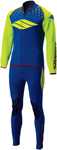 Slippery Wetsuits - Men's BREAKER John & Jacket Combo (Blue/Green/Red)
