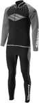 Slippery Wetsuits - Men's BREAKER John & Jacket Combo (Black/Gray)