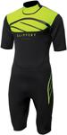 Slippery Wetsuit - Breaker Spring Suit (Black/Lime Green)