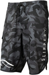 Slippery Wetsuits - Boardshorts (Black/Camouflage)