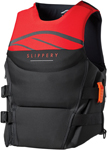 Slippery Wetsuits - Array Side Entry Neo Watercraft Vest / Life Jacket (Black/Red)