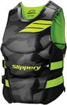 Slippery Wetsuits - Men's ARRAY Side Entry Neoprene Watercraft Vest / Life Jacket (Black/Green)