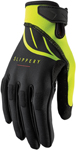 Slippery Wetsuits - Circuit Watercraft Gloves (Black/Lime Green)