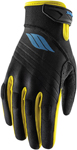 Slippery Wetsuits - Men's CIRCUIT Watercraft Water Race Gloves (Black/Blue/Yellow)