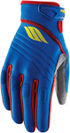Slippery Wetsuits - Men's CIRCUIT Watercraft Water Race Gloves (Blue/Red/Lime)