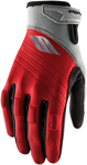 Slippery Wetsuits - Men's CIRCUIT Watercraft Water Race Gloves (Red/Silver)