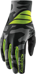 Slippery Wetsuits - Men's FLEX LITE Watercraft Water Gloves (Black/Green)