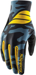 Slippery Wetsuits - Men's FLEX LITE Watercraft Water Gloves (Black/Blue/Yellow)