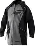 SLIPPERY Wetsuits - Men's Neoprene Tour Coat (Black)