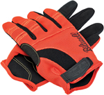 Biltwell Inc Moto Gloves (Orange/Black/Yellow)