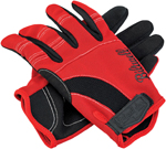 Biltwell Inc Moto Gloves (Red/Black/White)