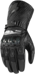 Icon PATROL Textile/Leather CE Certified Gloves (Black)