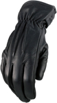Z1R REAPER 2 Leather Riding Gloves (Black)