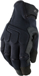 Z1R MILL Textile Riding Gloves (Black)