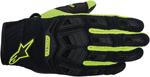 ALPINESTARS Atacama Air Mesh/Leather Short Cuff Motorcycle Gloves (Black/Yellow)