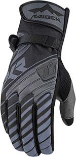 ICON RAIDEN DKR Adventure Dual Sport Motorcycle Gloves (Black)
