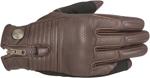 Alpinestars OSCAR RAYBURN Vintage-Look Leather Motorcycle Gloves (Brown)