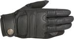 Alpinestars OSCAR ROBINSON Vintage-Look Leather Motorcycle Gloves (Black)