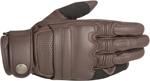 Alpinestars OSCAR ROBINSON Vintage-Look Leather Motorcycle Gloves (Brown)