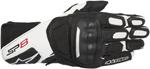 Alpinestars SP-8 V2 Touchscreen Leather Motorcycle Gloves (Black/White)