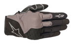 Alpinestars KINETIC Textile/Leather Touchscreen Riding Gloves (Black)