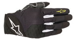 Alpinestars KINETIC Textile/Leather Touchscreen Riding Gloves (Black/Yellow)