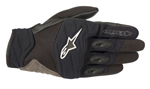 Alpinestars SHORE Leather/Textile/Mesh Touchscreen Riding Gloves (Black)