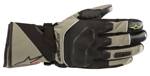 Alpinestars ANDES Outdry Leather/Textile Touchscreen Touring Gloves (Military Green/Black)