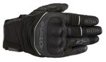 Alpinestars CROSSER Air Leather/Mesh Touchscreen Touring Gloves (Black/Black)