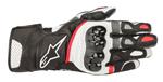 Alpinestars SP-2 V2 Leather Touchscreen Riding Gloves (Black/White/Red)