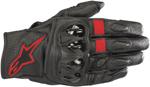 Alpinestars CELER v2 Leather Riding Gloves (Black/Red Fluo)