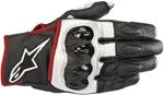 Alpinestars CELER v2 Leather Riding Gloves (Black/White/Red Fluo)