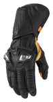 Icon Motosports HYPERSPORT GP Long Leather Riding Gloves (Black)