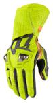 Icon Motosports HYPERSPORT GP Long Leather Riding Gloves (Hi-Viz)